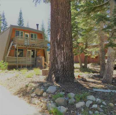 Mammoth Lakes Single Family Home Active Under Contract: 1469 Forest Trail