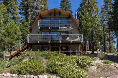 Mammoth Lakes Single Family Home Active Under Contract: 40 Beaver Trail