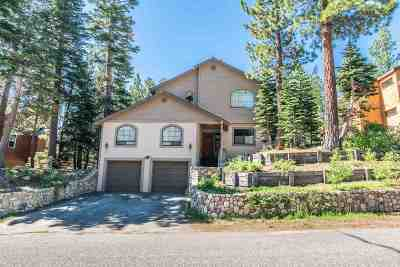 Mammoth Lakes Single Family Home Active Under Contract: 1535 Forest Trail