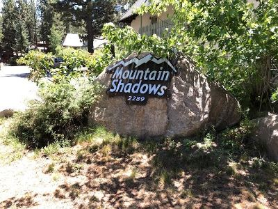 Mammoth Lakes CA Condo/Townhouse For Sale: $279,000