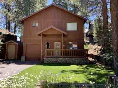 Mammoth Lakes Single Family Home Active Under Contract: 369 Pinecrest Avenue
