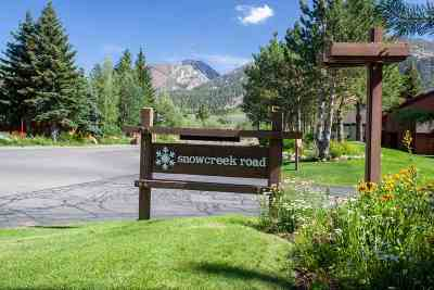 Mammoth Lakes Condo/Townhouse For Sale: 53 Gold Hill