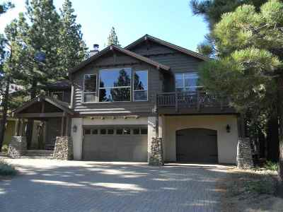 Snowcreek Crest Single Family Home For Sale: 146 Ridge Way
