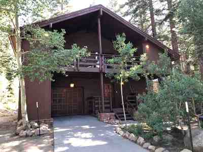 Mammoth Lakes Single Family Home For Sale: 452 Courchevel Court