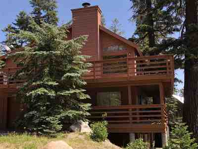 Mammoth Lakes CA Single Family Home For Sale: $1,050,000