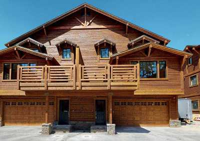 Mammoth Lakes CA Condo/Townhouse For Sale: $1,395,000