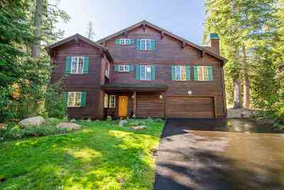 Mammoth Lakes Single Family Home For Sale: 193 Red Fir Rd