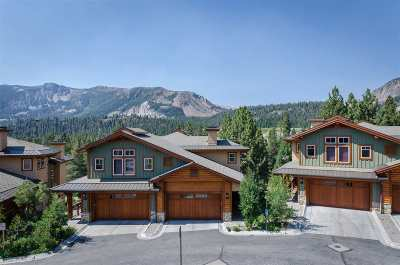 Mammoth Lakes Condo/Townhouse Active-Extended: 100 Juniper Drive #25