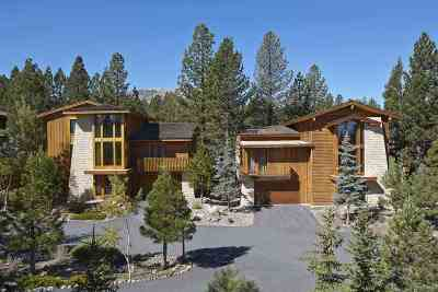 Mammoth Lakes Single Family Home For Sale: 460 Obsidian