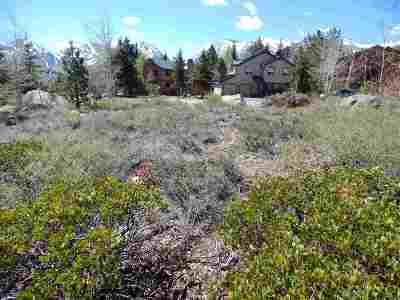Mammoth Lakes Residential Lots & Land For Sale: 379 Wagon Wheel Rd.