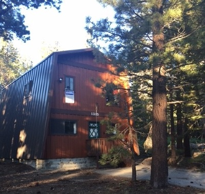 Mammoth Lakes Single Family Home Active Under Contract: 1315 Majestic Pines