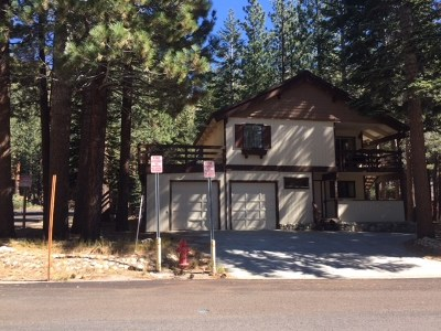 Mammoth Lakes Single Family Home Active-Extended: 246 St. Anton