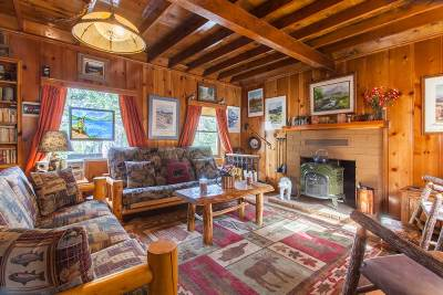 Mammoth Lakes Single Family Home Active Under Contract: 4500 Lake Mary Road Cabin No. 17