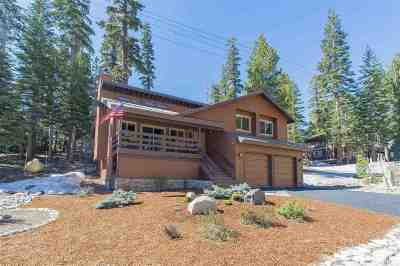 Mammoth Lakes Single Family Home Active Under Contract: 61 Convict