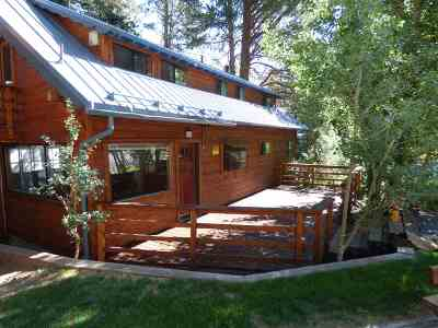 Mammoth Lakes Single Family Home Active Under Contract: 18 Evergeen