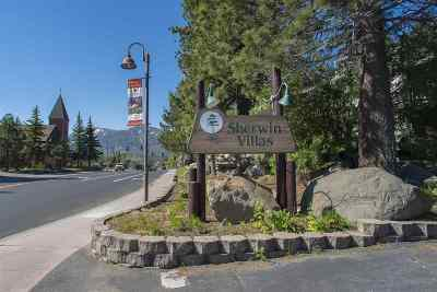 Mammoth Lakes Condo/Townhouse Active-Price Chg: 362 Old Mammoth