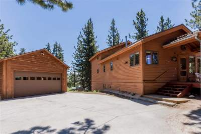 Mammoth Lakes Single Family Home Active Under Contract: 55 Knob Hill
