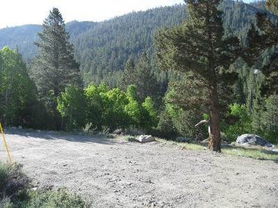 June Lake Residential Lots & Land Active-Extended: Lot 4 Hideaway Lane