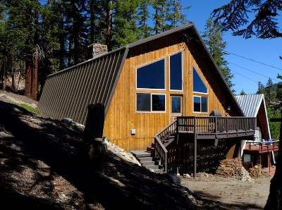 Mammoth Lakes Single Family Home Active Under Contract: 32 John Muir Road