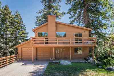 Mammoth Lakes Single Family Home Active Under Contract: 257 Monterey Pine Rd.