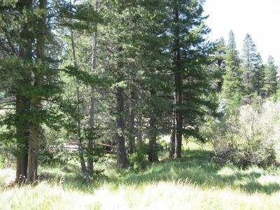 June Lake CA Residential Lots & Land Active-Price Chg: $89,950