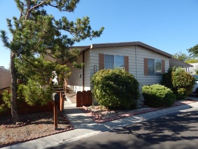 Bishop Mobile Home For Sale: 2310 Baskerville