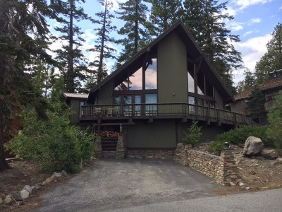 Mammoth Lakes Single Family Home For Sale: 43 Aspen