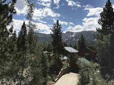 Mammoth Lakes Residential Lots & Land Active-Extended: 622 Majestic Pines Drive