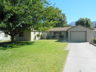 Bishop Single Family Home For Sale: 2680 Highland Drive