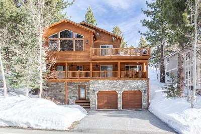 Mammoth Lakes Single Family Home Active Under Contract: 608 Majestic Pines Drive