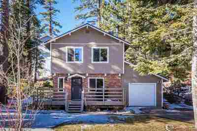 Mammoth Lakes Single Family Home Active-Extended: 1465 Majestic Pines Drive