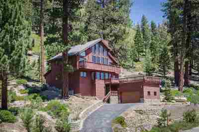 Mammoth Lakes Single Family Home Active Under Contract: 135 Holiday Way