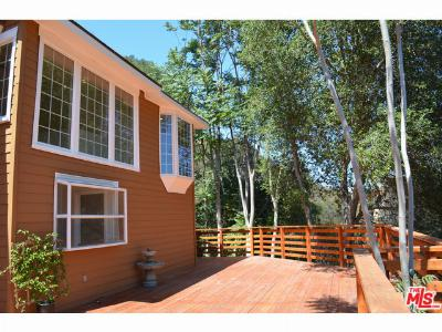 Topanga Single Family Home Active Under Contract: 568 Canon View Trail