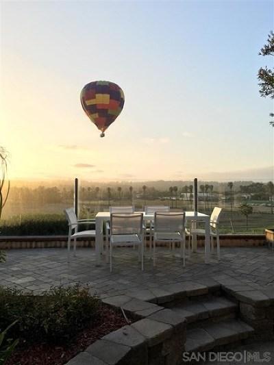 Rancho Santa Fe Single Family Home For Sale: 5842 Saratoga Corte