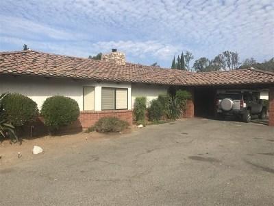 Bonsall Single Family Home Active Under Contract: 6960 Via Mariposa Norte
