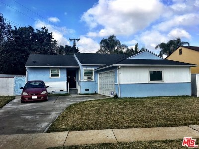 Downey Single Family Home Active Under Contract: 9485 True Avenue