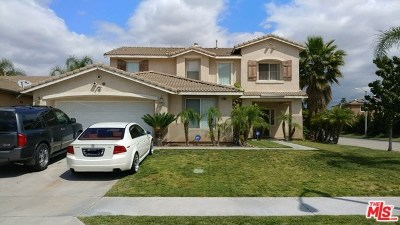 Fontana Single Family Home Active Under Contract: 17304 Birchtree Street