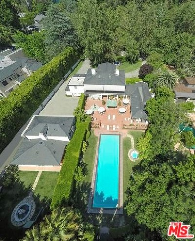 Los Angeles Single Family Home For Sale: 661 Stone Canyon Road