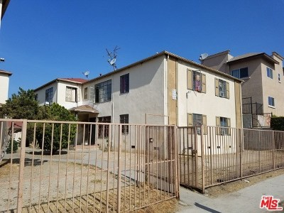 Sun Valley Multi Family Home For Sale: 7323 Bakman Avenue