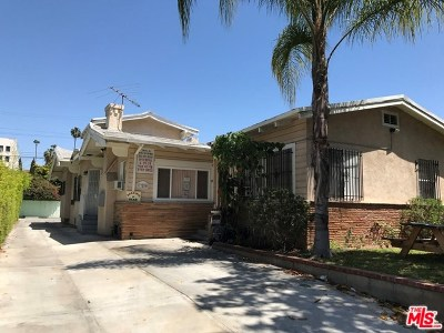 Los Angeles Multi Family Home For Sale: 726 S Wilton Place
