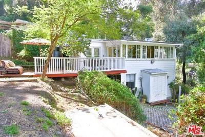 Topanga Single Family Home Active Under Contract: 19606 Walnut Trail