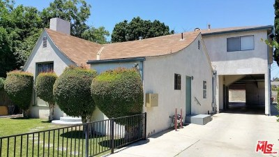 North Hollywood Multi Family Home For Sale: 11433 Hatteras Street