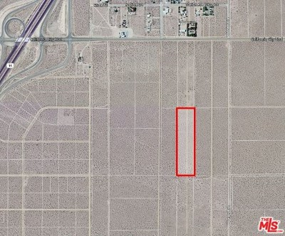 Residential Lots & Land For Sale: 93501 Apn 225-113-14