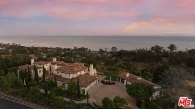 San Luis Obispo County, Santa Barbara County Single Family Home For Sale: 2140 Ortega Ranch Road