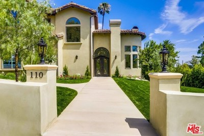 Burbank Single Family Home For Sale: 110 Country Club Drive