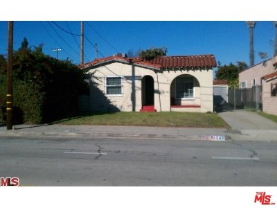Los Angeles Single Family Home For Sale: 849 W 98th Street