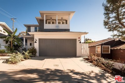 Manhattan Beach Single Family Home For Sale: 2612 Pine Ave
