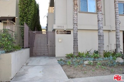 Studio City Condo/Townhouse For Sale: 10866 Bluffside Drive #3