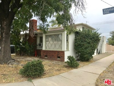 North Hollywood Multi Family Home For Sale: 5900 Vineland Avenue