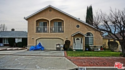 La Crescenta Single Family Home For Sale: 2918 Los Olivos Lane